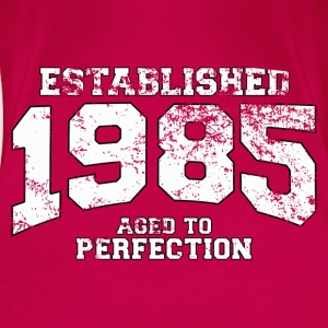 established 1985 - aged to perfection (uk) Tops - Women's Premium T-Shirt