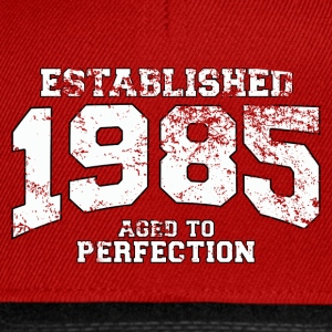 Geburtstag - established 1985 - aged to perfection - Snapback Cap