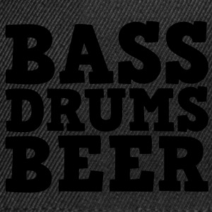Bass Drums and Beer Tops - Snapback Cap