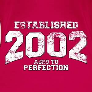 established 2002 - aged to perfection (uk) Tops - Women's Premium T-Shirt