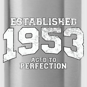 established 1953 - aged to perfection (nl) Tops - Drinkfles