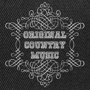 original country music Tee shirts - Casquette snapback