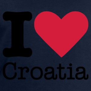 I Love Croatia Tops - Men's Sweatshirt by Stanley & Stella