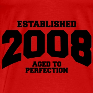 aged to perfection established 2008 (nl) Tops - Mannen Premium T-shirt