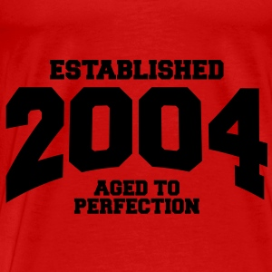aged to perfection established 2004 (sv) Toppar - Premium-T-shirt herr