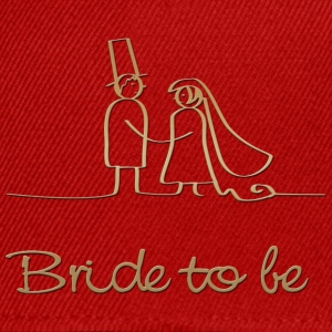 bride to be Tee shirts - Snapback Cap