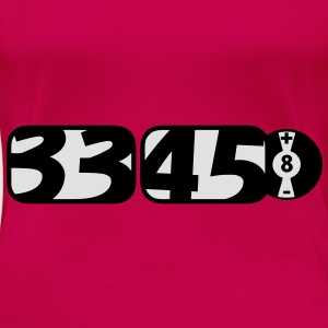 33 45 vinyl record artwork Tops - Women's Premium T-Shirt