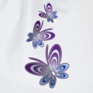 'Butterfly' Singlet for damer - Gymbag
