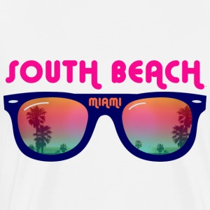 South Beach Miami Débardeurs - T-shirt Premium Homme