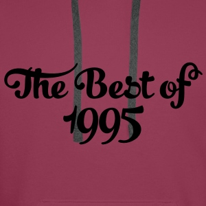Geburtstag - Birthday - the best of 1995 (it) Top - Felpa con cappuccio premium da uomo