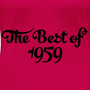 Geburtstag - Birthday - the best of 1959 (fr) Débardeurs - T-shirt Premium Femme