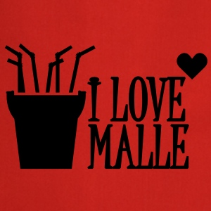 I love Malle (1c) Tops - Cooking Apron
