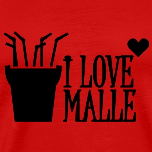 I love Malle (1c) Tops - Men's Premium T-Shirt