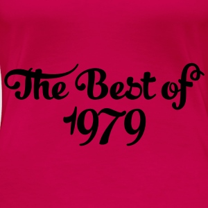 Geburtstag - Birthday - the best of 1979 (no) Topper - Premium T-skjorte for kvinner