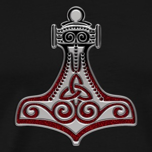Thors Hammer, Mjolnir, Mjölnir, Amulett, Amulet, Symbol - Force, Strength & Courage / T-Shirts - Men's Premium T-Shirt