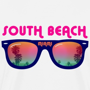 South Beach Miami - Sonnenbrille Tops - Männer Premium T-Shirt