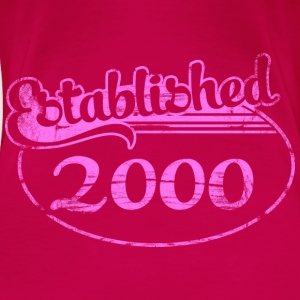 established_2000_dd (uk) Tops - Women's Premium T-Shirt