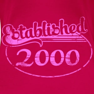 established_2000_dd (es) Tops - Camiseta premium mujer