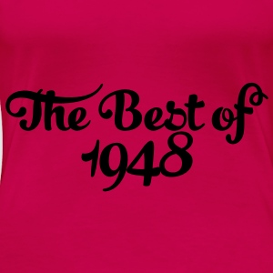 Geburtstag - Birthday - the best of 1948 (nl) Tops - Vrouwen Premium T-shirt