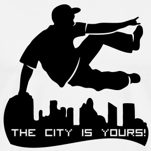 parcour traceur - the city is yours T-Shirts - Männer Premium T-Shirt