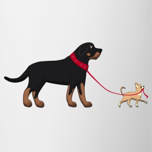 Rottweiler & Chihuahua 2 Tops - Tasse