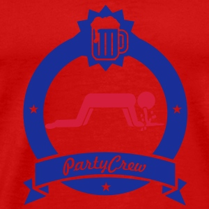 barfing party crew (2c) Tops - Männer Premium T-Shirt