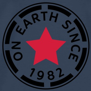 on earth since 1982 (sv) Toppar - Premium-T-shirt herr