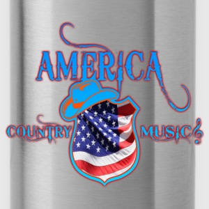 america country music Tops - Water Bottle