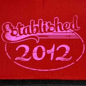 established 2012 (nl) Tops - Snapback cap