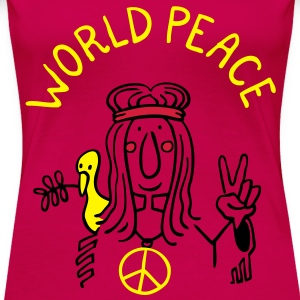 World Peace Tops - Frauen Premium T-Shirt