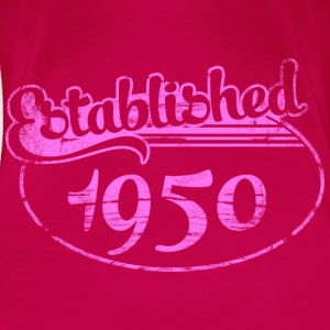 established 1950 dd (fr) Débardeurs - T-shirt Premium Femme