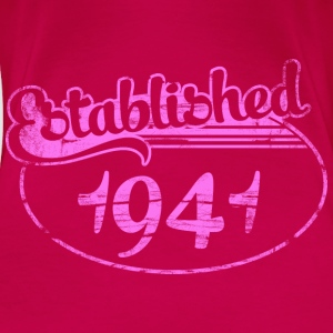 Geburtstag - established 1941 dd (de) Tops - Frauen Premium T-Shirt