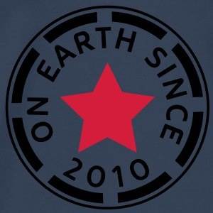 on earth since 2010 (uk) Tops - Men's Premium T-Shirt