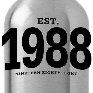 EST. 1988 Nineteen Eighty Eight - Trinkflasche