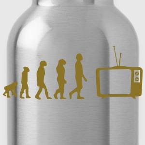 Evolution TV, TV, sofa, couch, flat screen TV, tube T-Shirts - Water Bottle