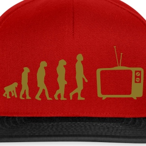 Evolution TV, TV, sofa, couch, flat screen TV, tube T-Shirts - Snapback Cap