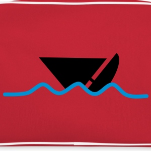 distress_boat T-shirts - Retro-tas