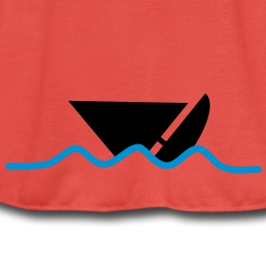 distress_boat T-Shirts - Women's Tank Top by Bella