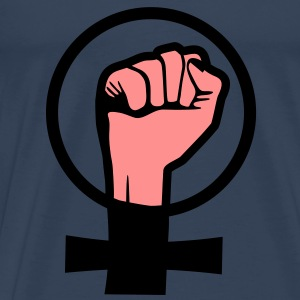 Protest, Girlpower Tops - Mannen Premium T-shirt