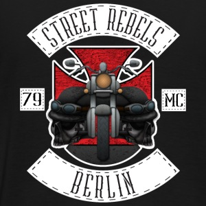 Street Rebels Berlin MC Rockerkutte by Individual  - Männer Premium T-Shirt