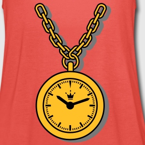 clock, chain T-Shirts - Women's Tank Top by Bella