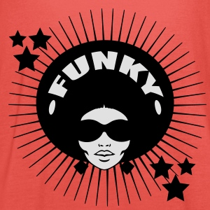 Funky Girl (2c) T-Shirts - Women's Tank Top by Bella