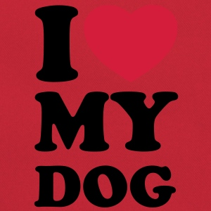 I love my dog Shirts - Borsa retrò