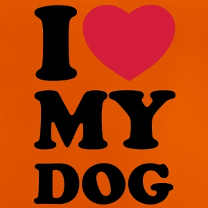 I love my dog Shirts - Baby T-shirt