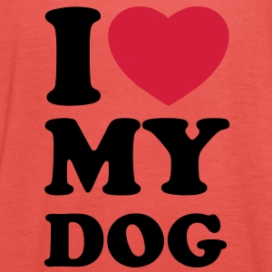 I love my dog Shirts - Dame tanktop fra Bella