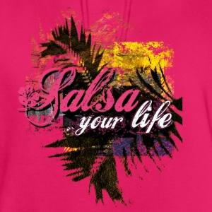 salsa your live | tanzshirts  Tops - Unisex Hoodie