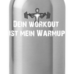 Workout T-Shirts - Trinkflasche