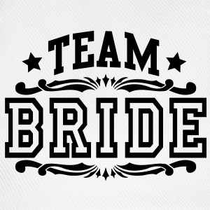 team bride Tops - Baseballcap