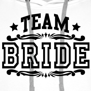 team bride Tops - Men's Premium Hoodie