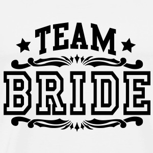 team bride Tops - Mannen Premium T-shirt